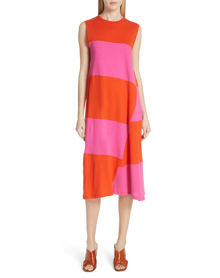 elizabeth and james two tone dress