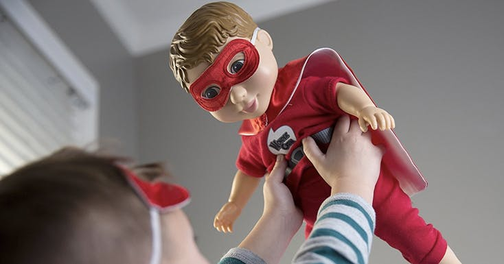 Holy Feels, Batman! These Dolls Are Designed to Nurture Empathy in Boys