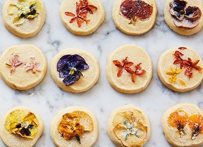 flower shortbread cookies recipe 2901