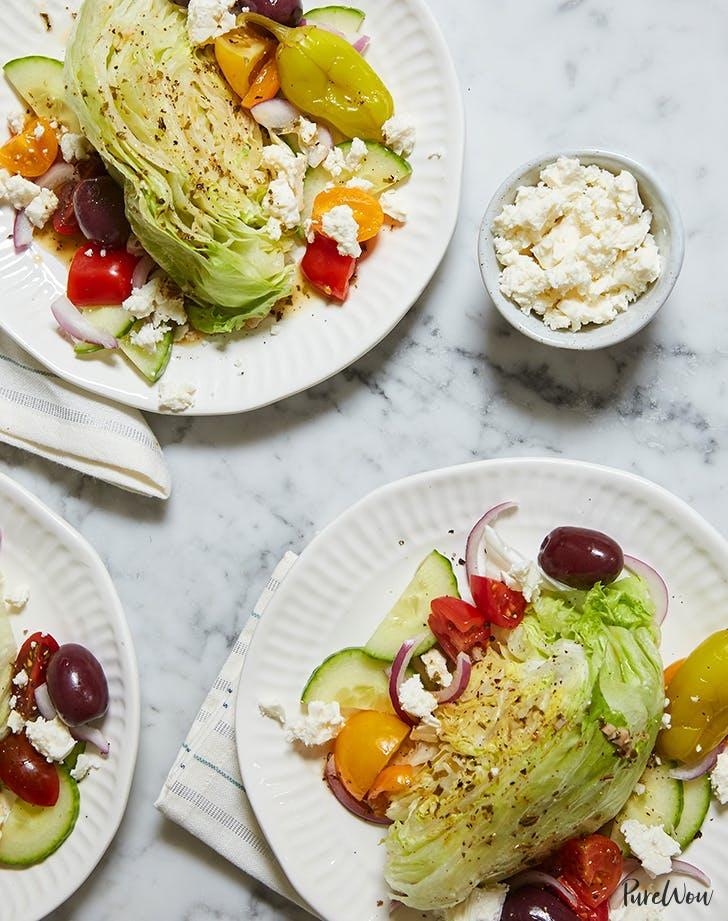 greek wedge salad 4th of july side recipe