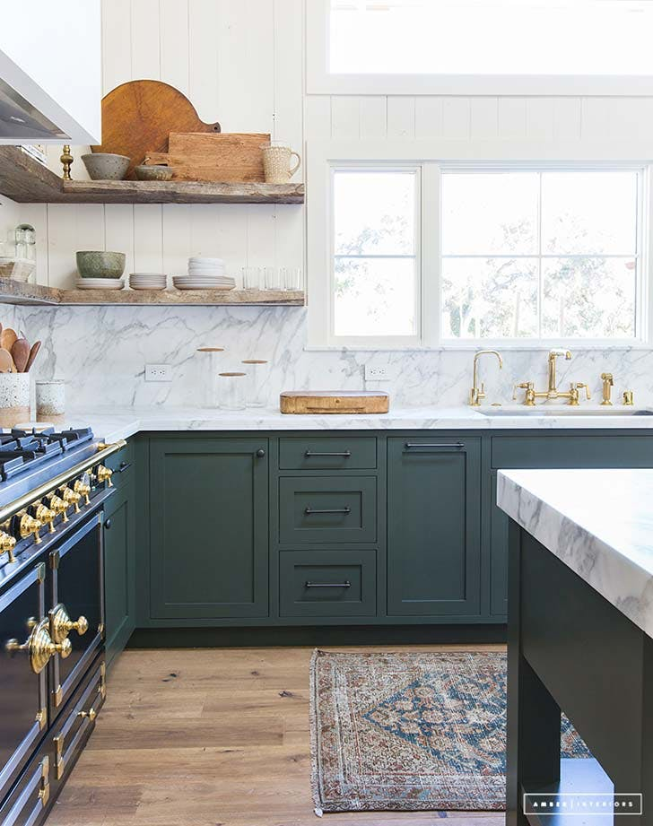 green kitchen inspiration 2