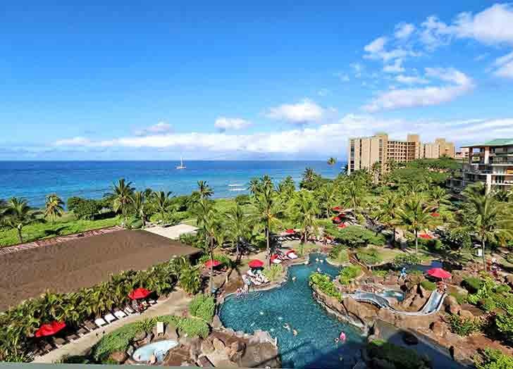 hawaii kai resort and spa pool sky ocean