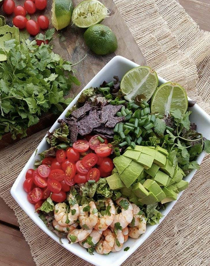 honey lime shrimp bowl recipe