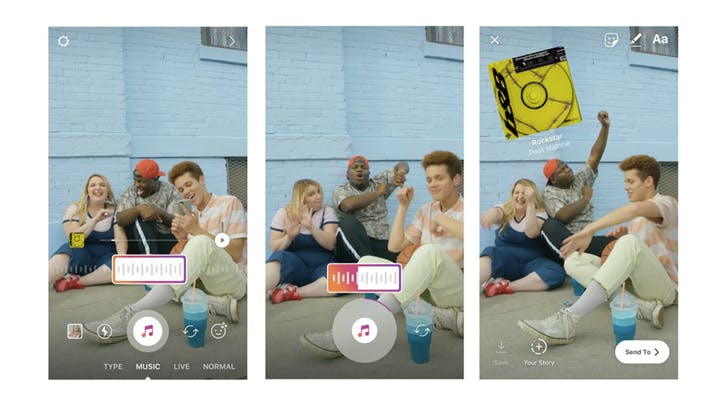 Whoa, You Can Now Add Music to Your Instagram Stories
