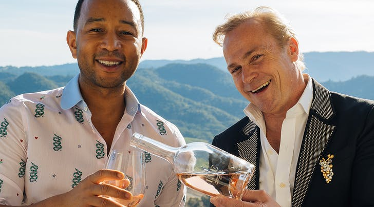 John Legend Has His Own Rosé (and We Cant Wait to See What Chrissy Has to Say About This)