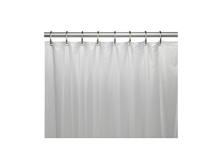 mDesign Shower Curtain Liner