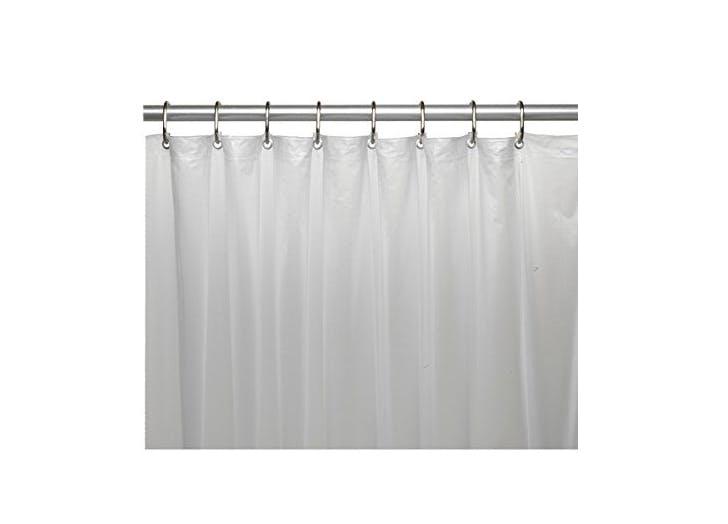 mDesign Shower Curtain Liner