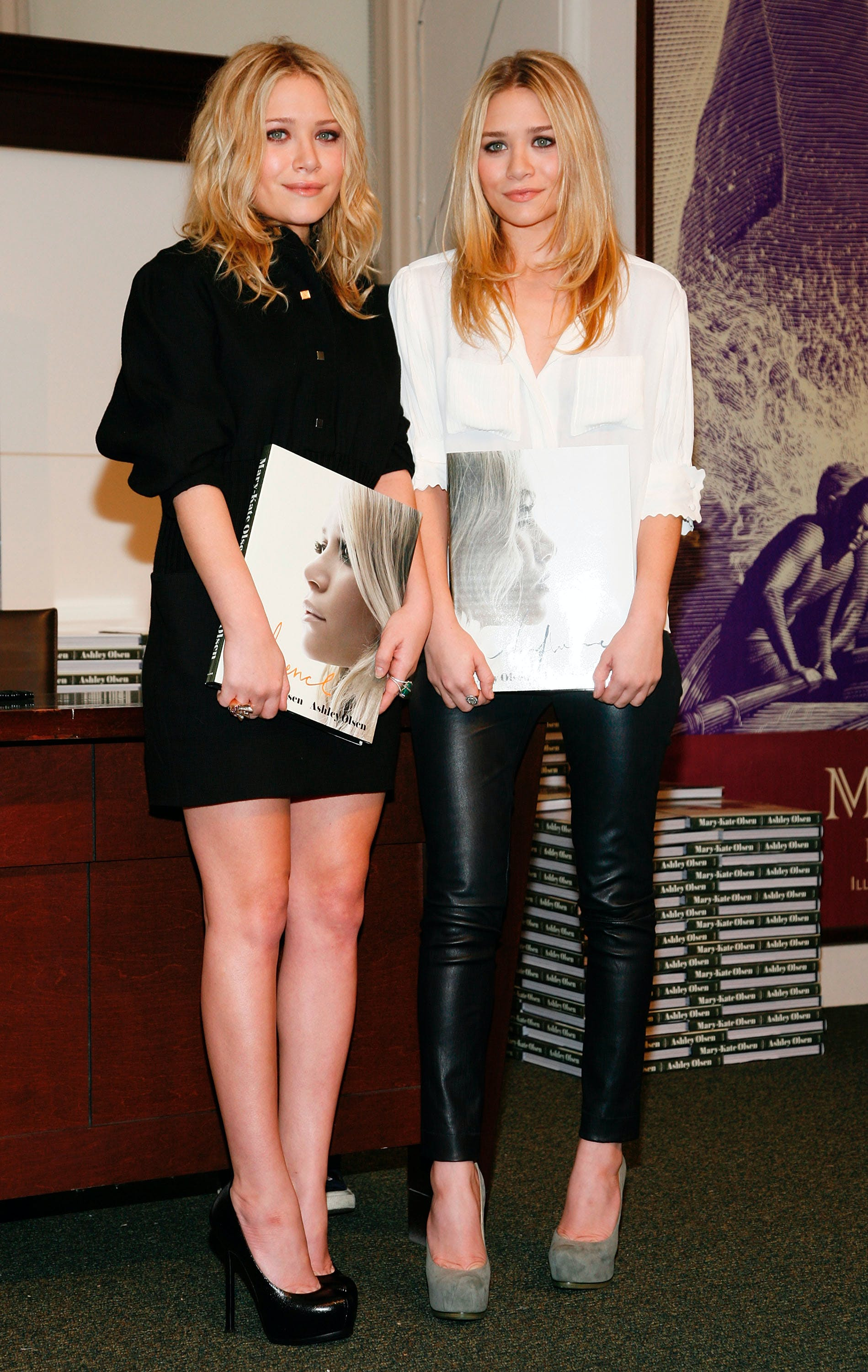 mary kate and ashely olsen in 2008