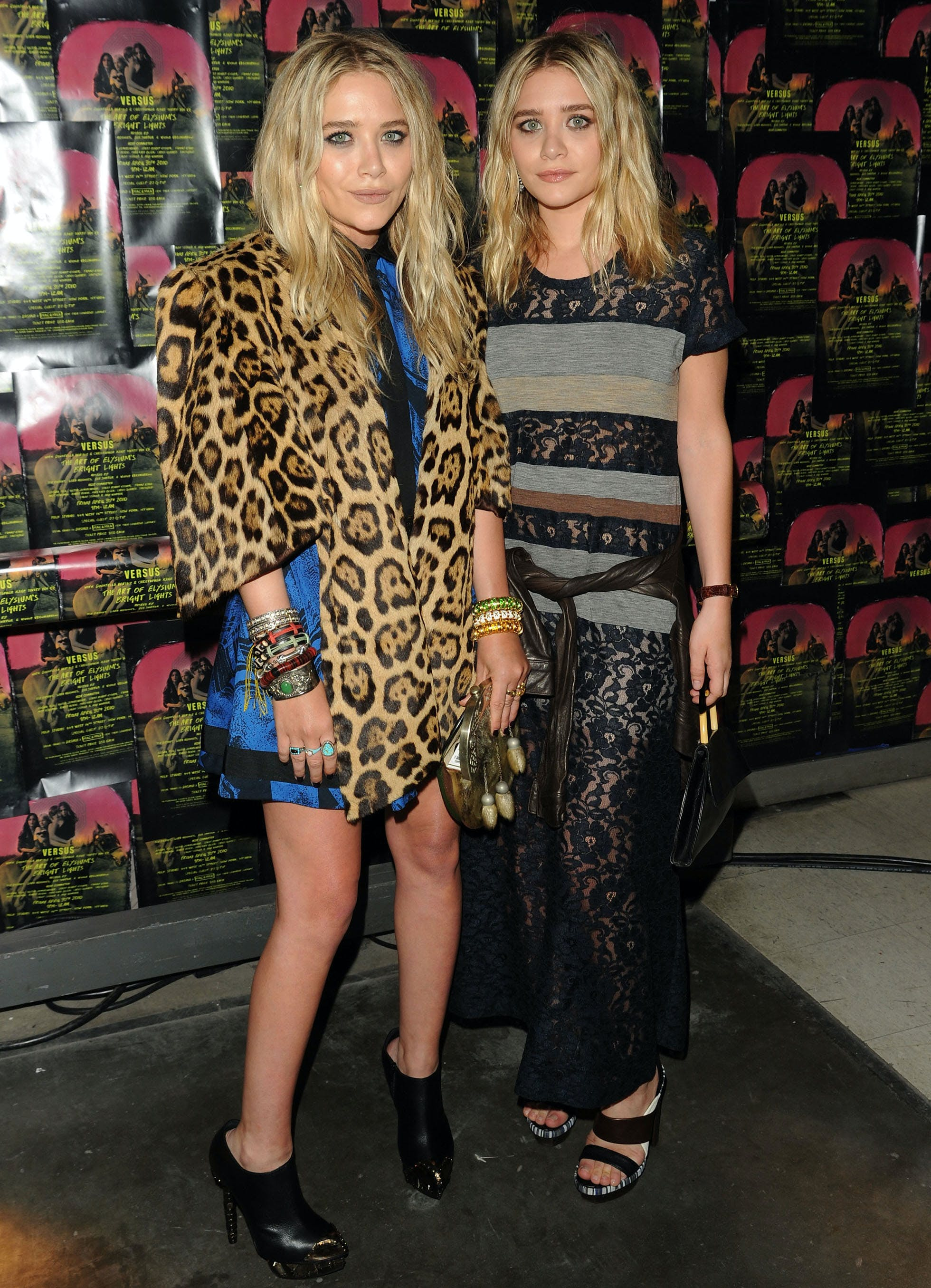 mary kate and ashley in 2010