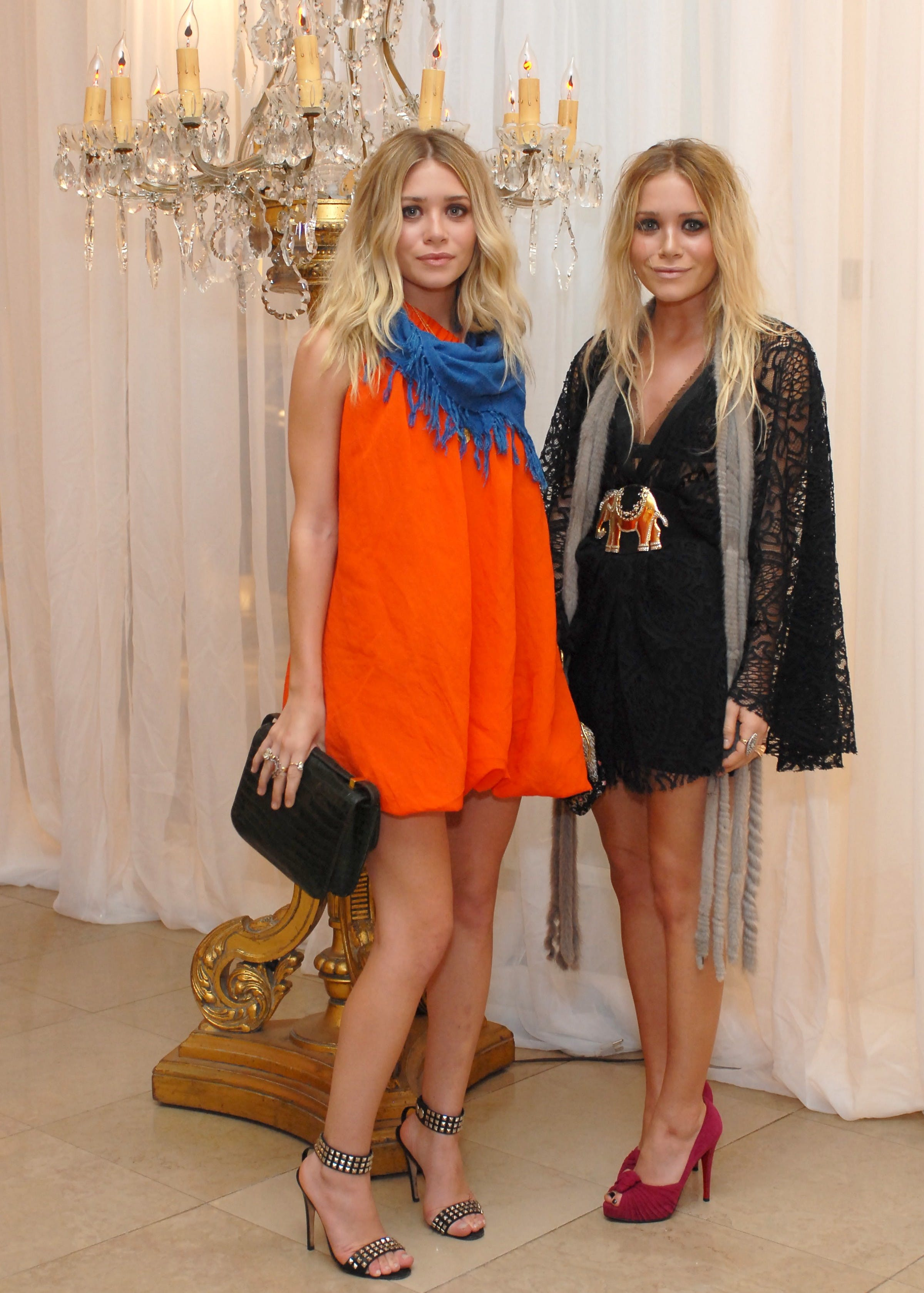 mary kate and ashley olsen in 2007