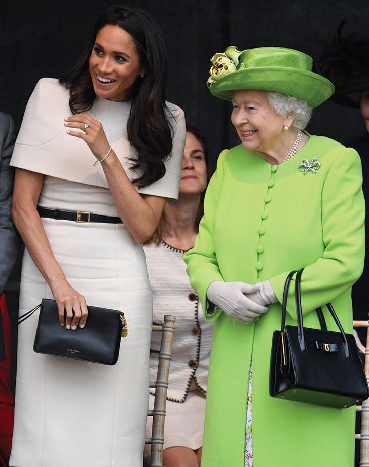 meghan markle queen elizabeth laughing1