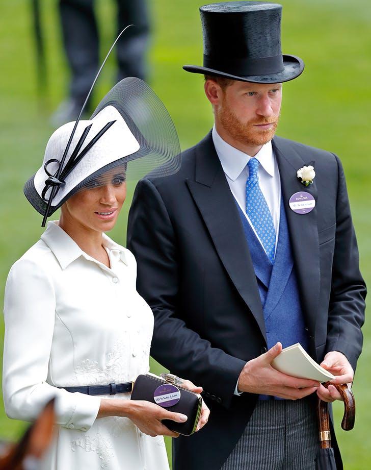 meghan markle royal ascot name tag