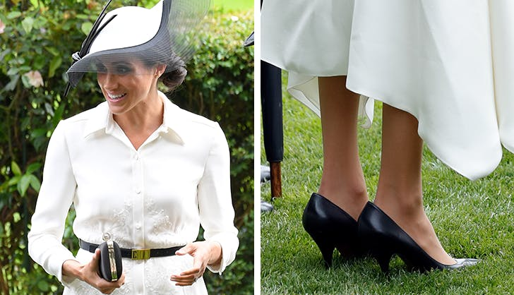 Um, Why Are Meghan Markles Shoes Always Two Sizes Too Big?