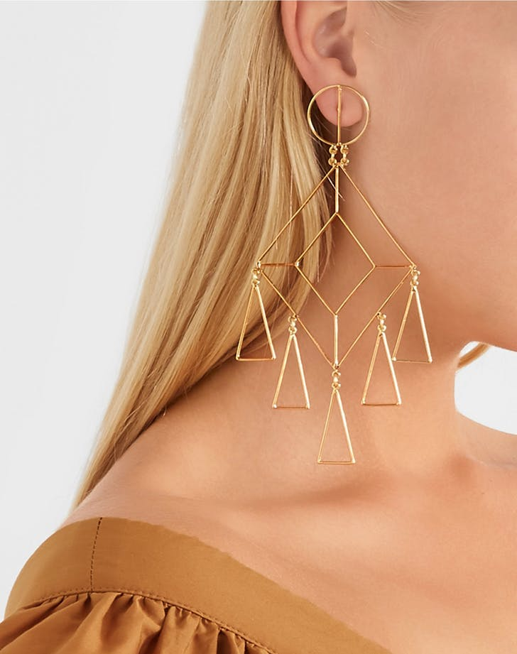 mercedes salazar geometric earrings