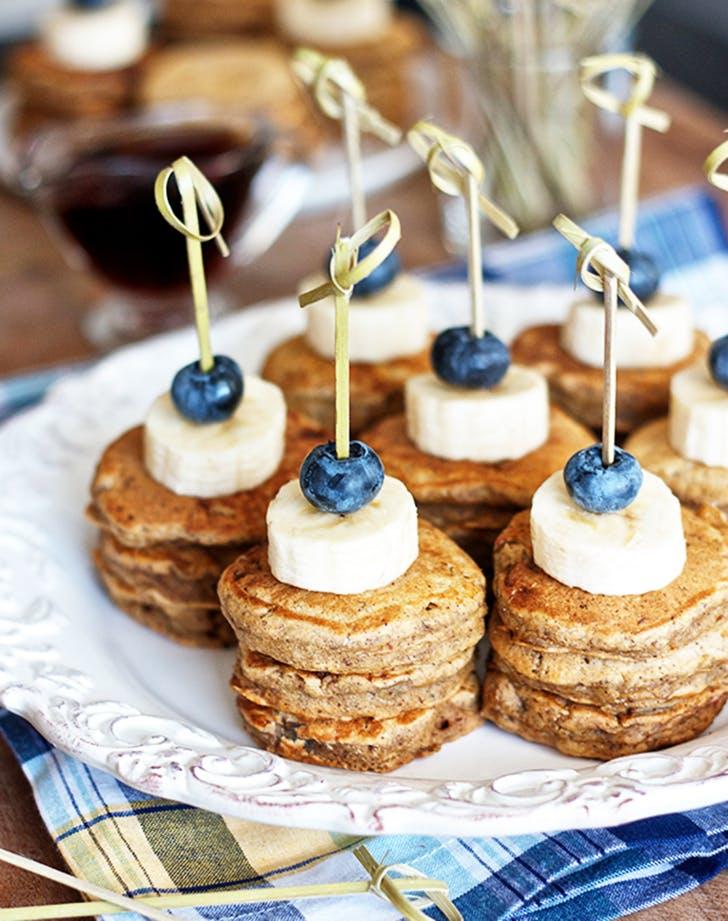 mini bnana pancak skewers recipe