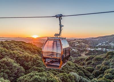 oakland zoo gondola sky sunset 400
