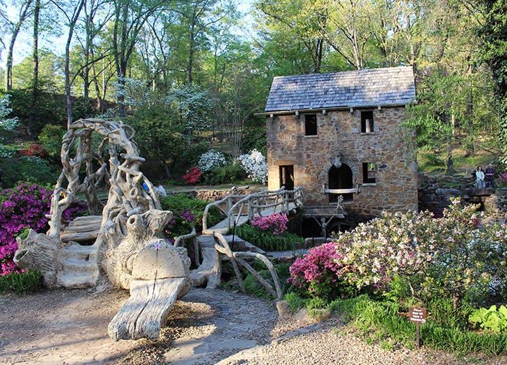 old mill park in arkansas