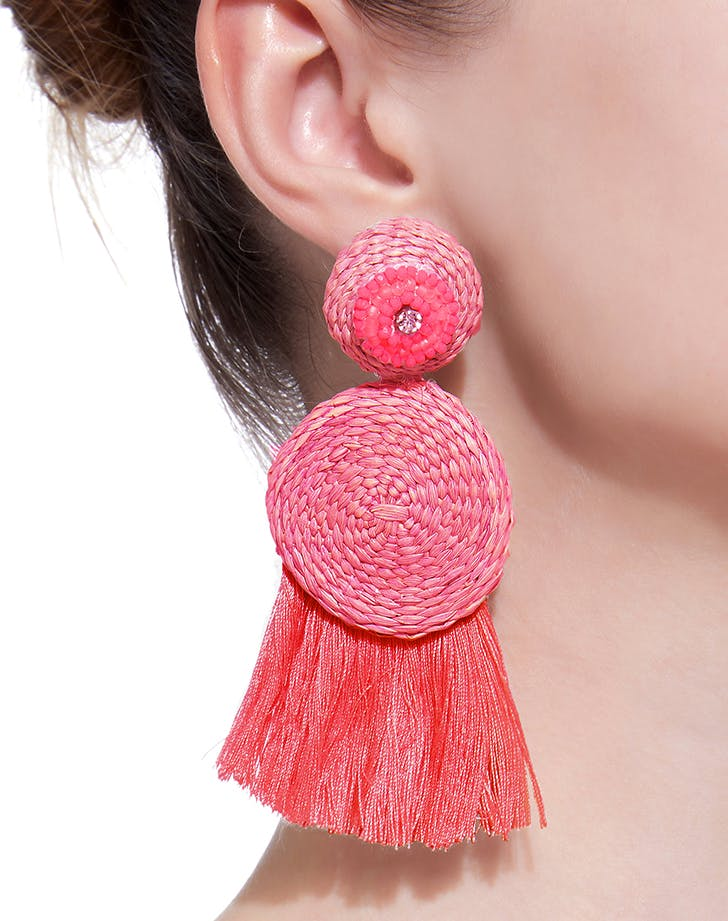 pink johanna ortiz earrings
