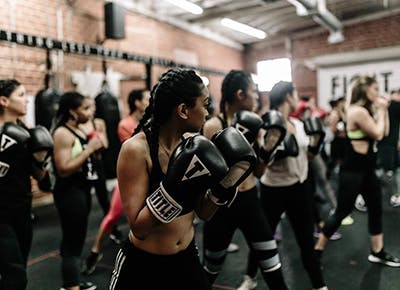prevail boxing studio LA 400