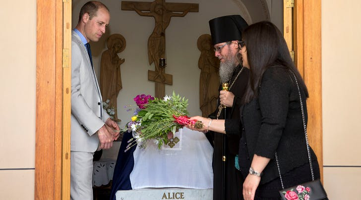 Prince William Visited the Tomb of His Great-Grandmother, Princess Alice, During His Visit to Israel