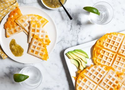 quesadilla waffles 400