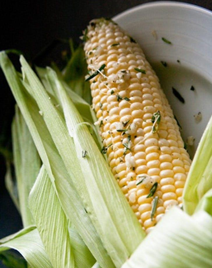 rosemary garlic corn on the cob