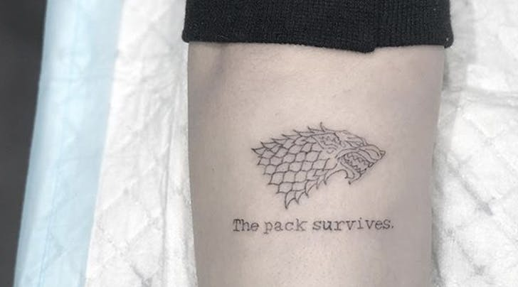 Does Sophie Turners New Tattoo Contain a Hint About 'Game of Thrones Season 8?! (Either Way, Were Freaking Out)