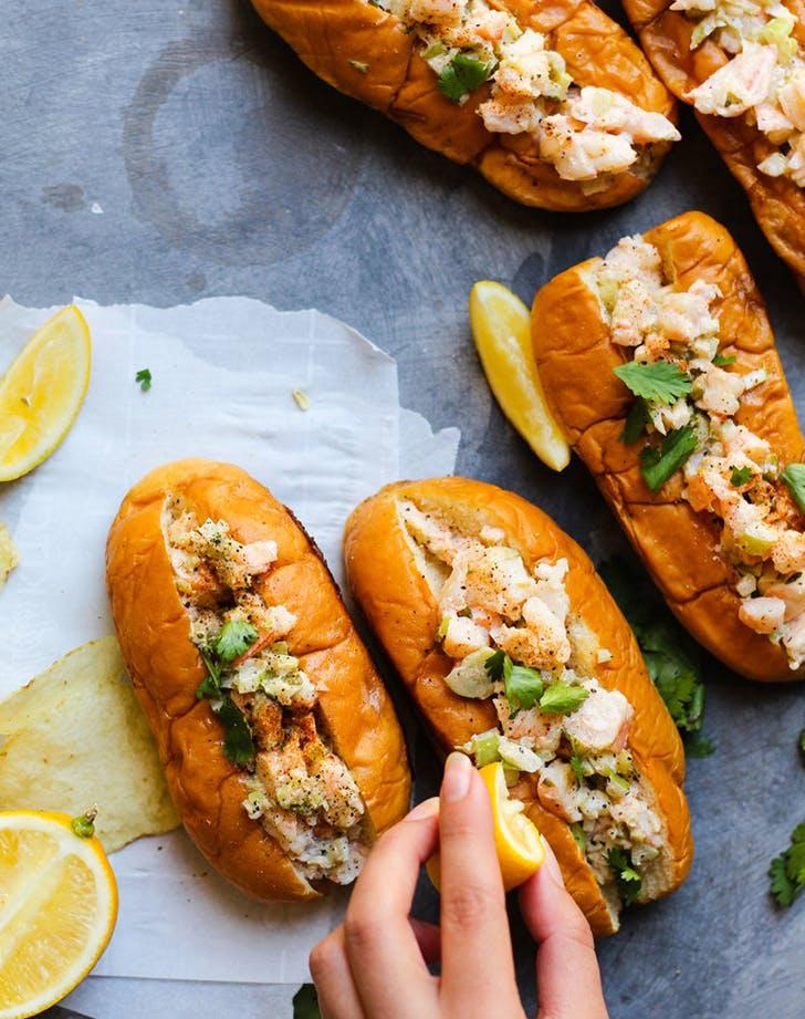 sesame oil shrimp rolls recipe
