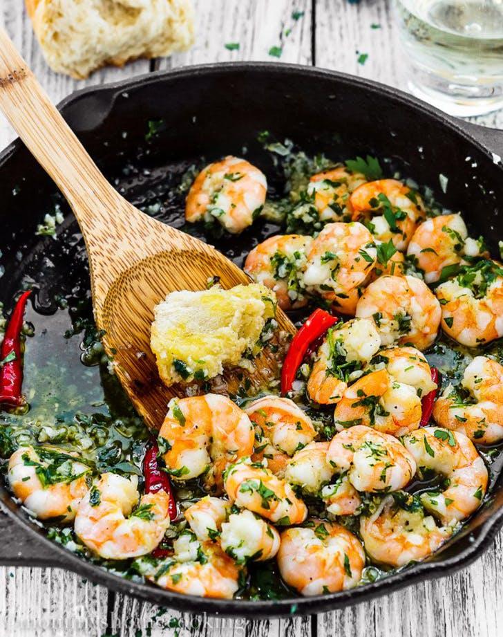 spanish style garlic shrimp recipe