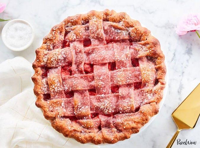 strawberry pie strawberry crust