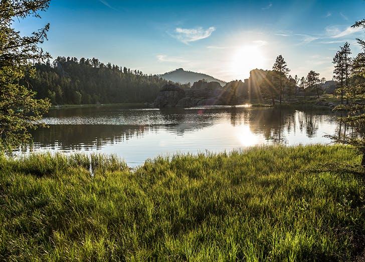 sylvyan lake in south dakota