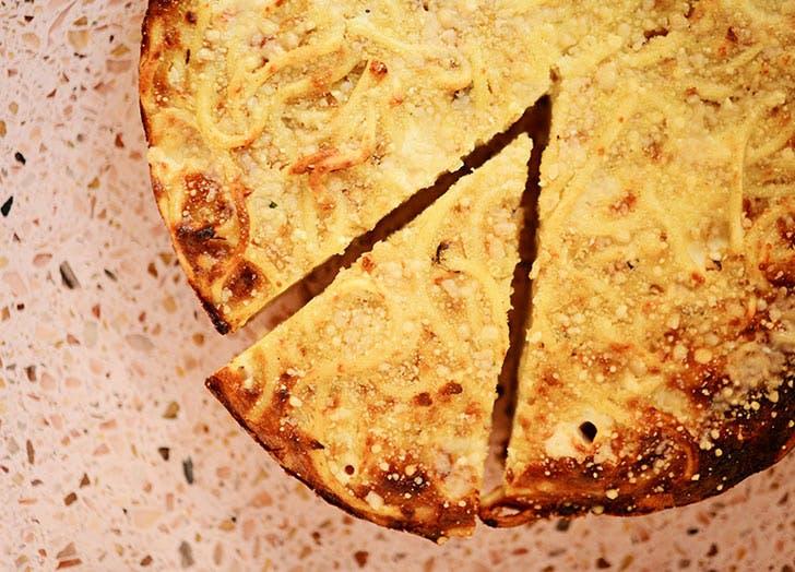 the sota spaghetti pie