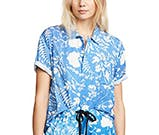 tropical floral shirt by double rainbouu