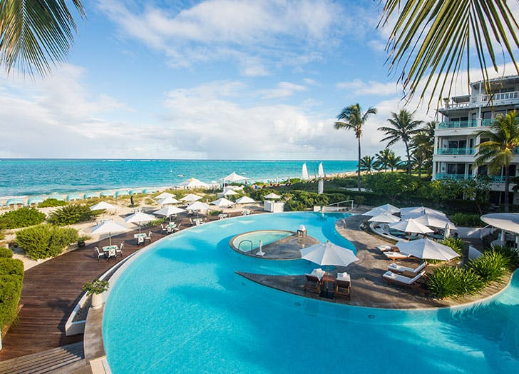 turks and caicos pool