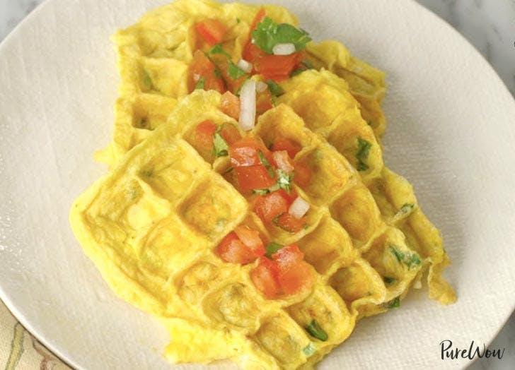 waffle omlette recipe