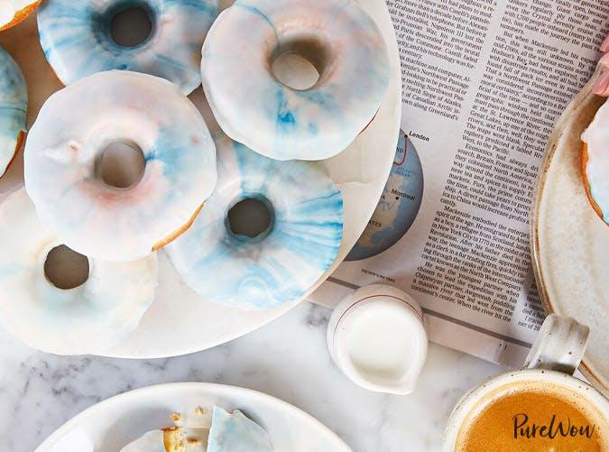 water color doughnuts