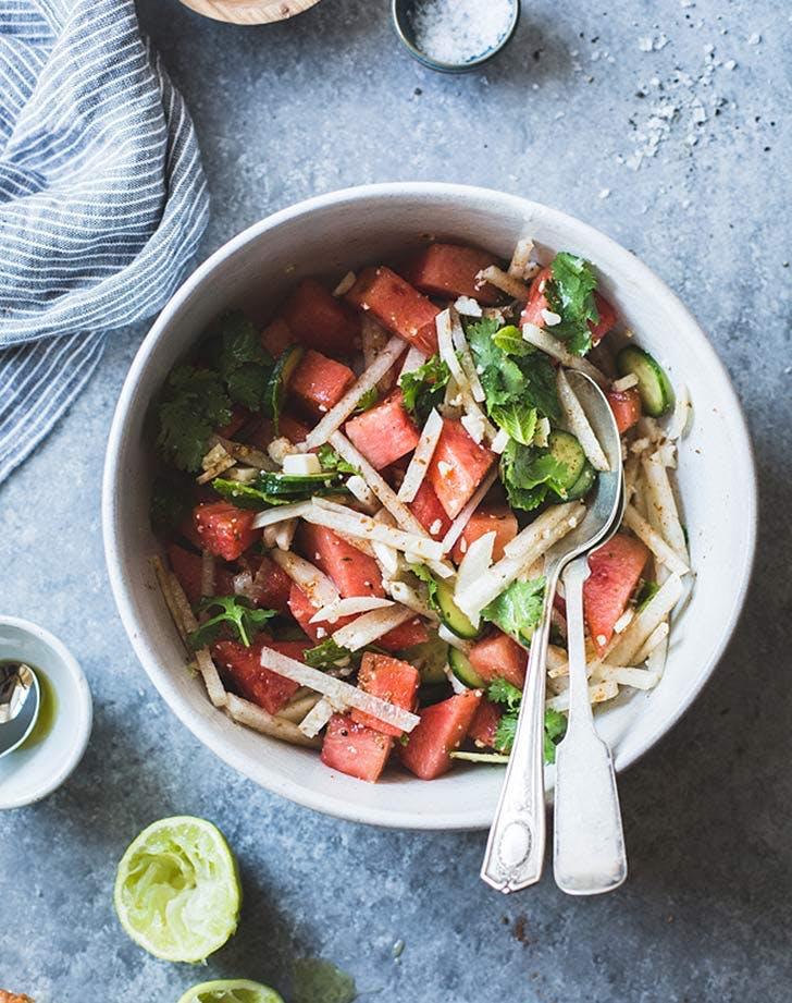 watermelon jicama salad side dish