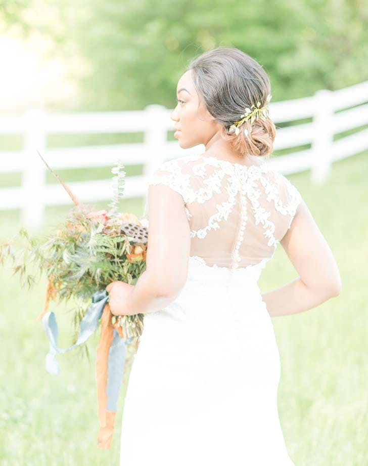 wedding hairstyle with flowers 3