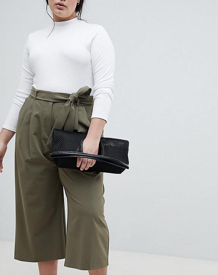 wide leg culotte pants