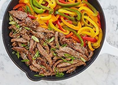 15 minute skillet pepper steak recipe 290
