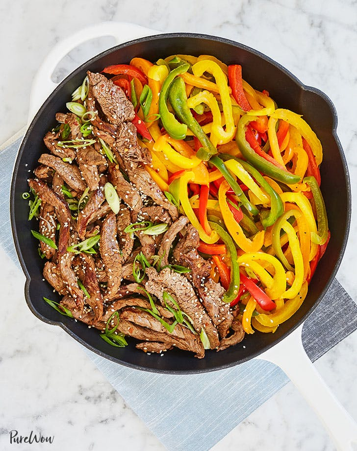 15-Minute Skillet Pepper Steak