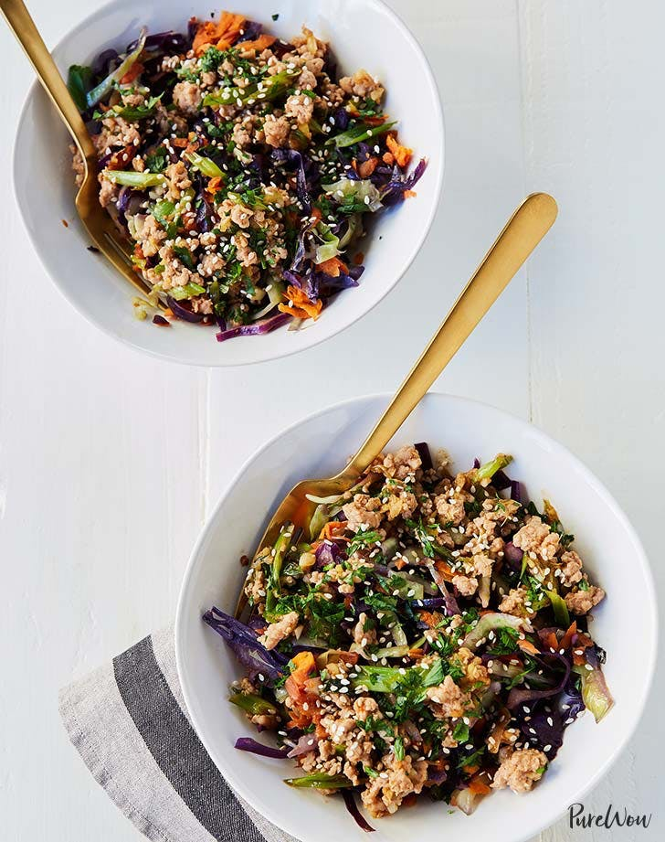 20 minute paleo egg roll bowls recipe