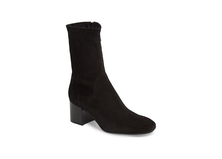Aquatalia suede booties