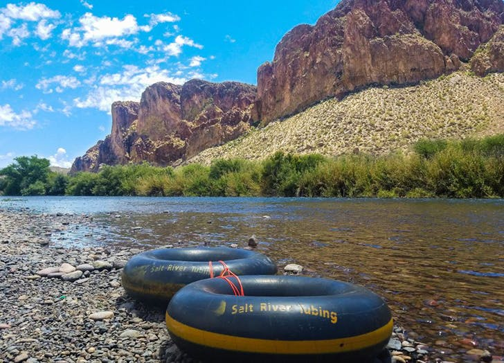 Arizona Salt River Tubing
