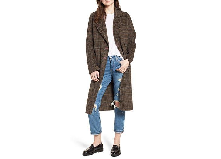 Avec Les Filles wool coat