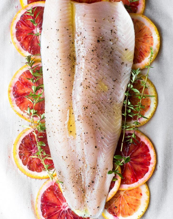 Clean Keto Fish in parchment with blood oranges 7759 January 04 2016