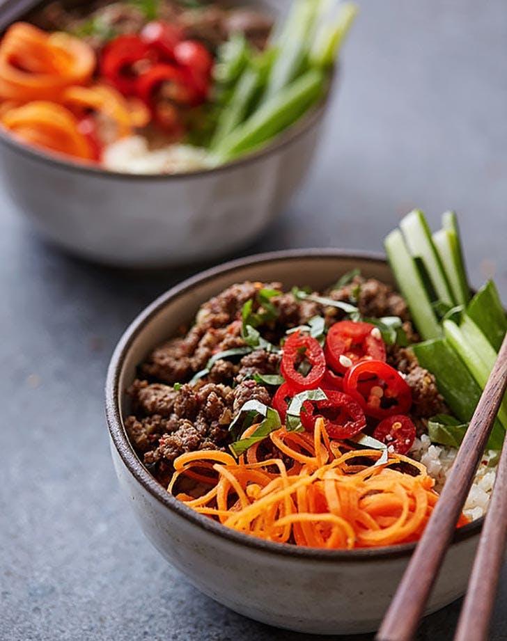 Clean Keto Thai Beef Bowl