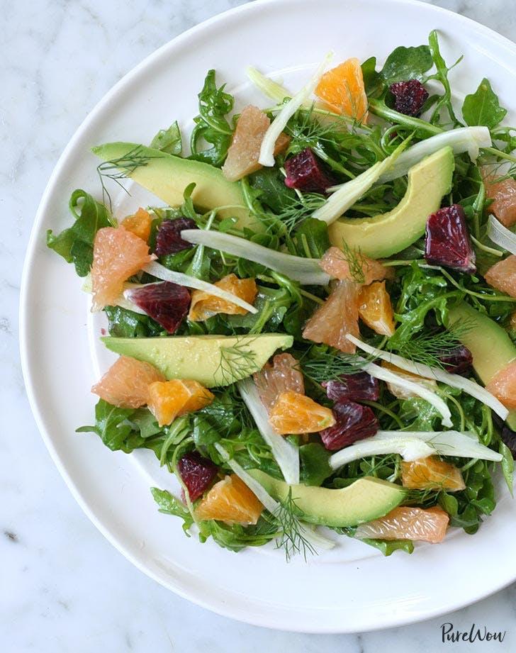 Clean Keto Citrus Fennel Salad