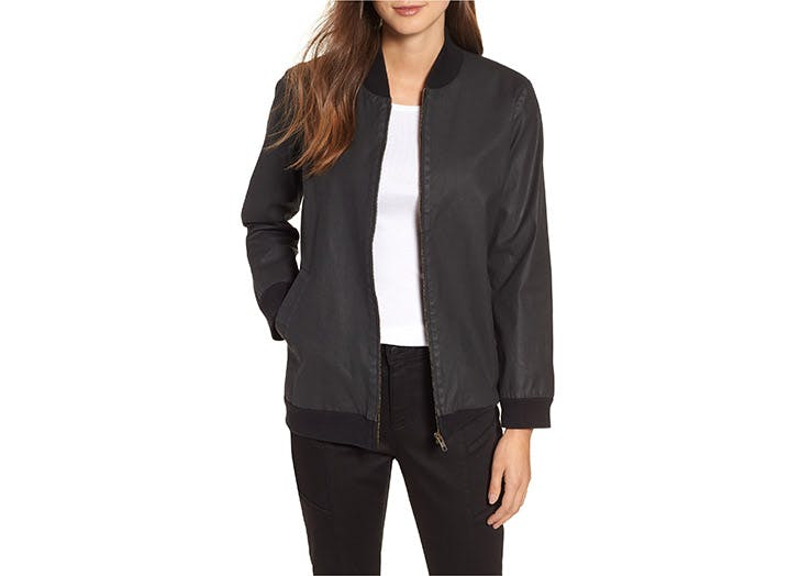 Eileen Fisher bomber jacket