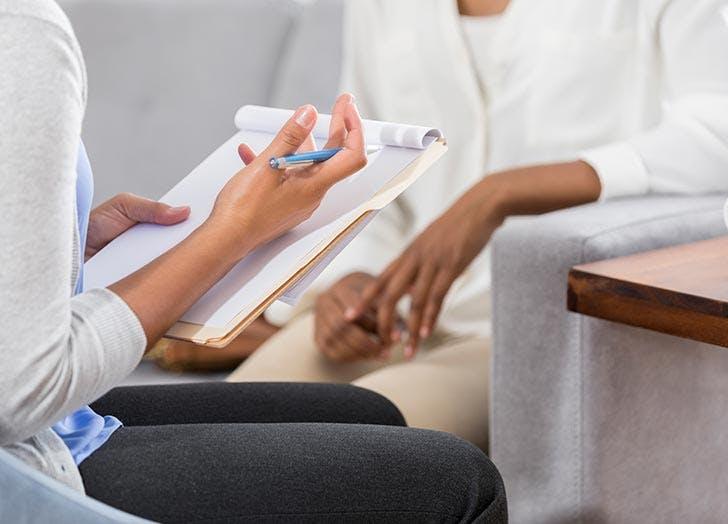 Gynecologist exam